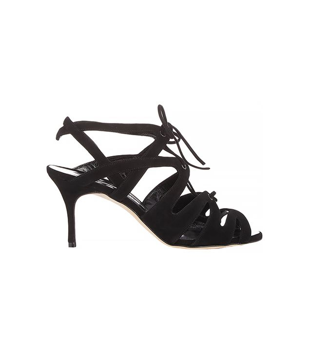 Manolo Blahnik Netochka Caged Sandals