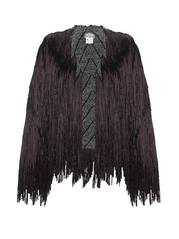 Tim Ryan Lurex Fringe Jacket