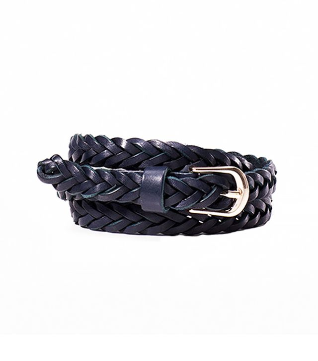 Massimo Dutti Narrow Braided Belt