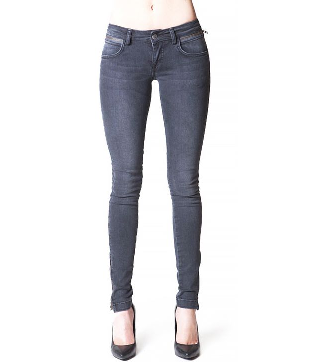 Anine Bing Double Zipper Jeans