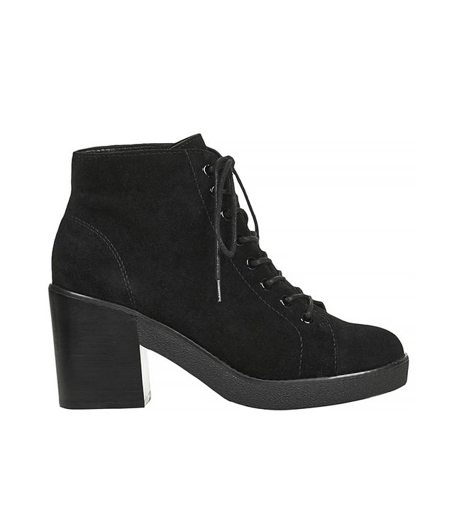 Topshop Awesome Lace-Up Boots