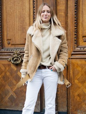 Would You Wear White Jeans in the Winter?