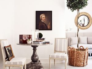 Shop the Room: An Antique-Studded Sitting Area