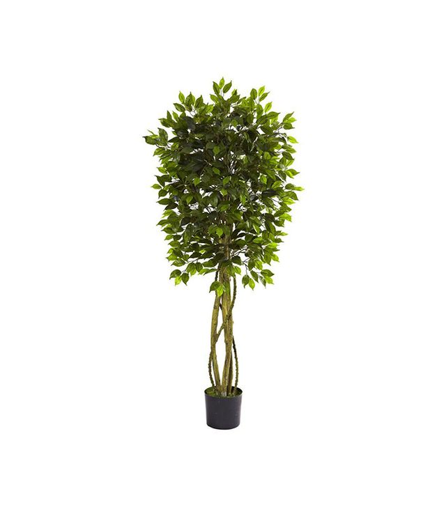 Nearly Natural Indoor/Outdoor Ficus Tree