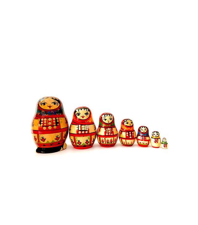 Etsy Vintage Yoscar Ola Russian Nesting Doll
