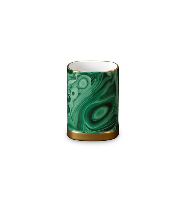 L'Objet Malachite Pencil Cup