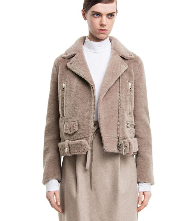 Acne Studios Mock Felted Stone Jacket