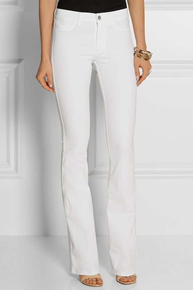 MiH Jeans Skinny Marrakesh Mid-Rise Flare Jeans