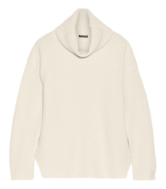Theory Naven Wool Turtleneck Sweater