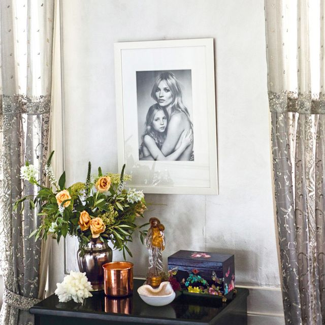 Kate Moss Takes Us Inside Her Charmed London Home