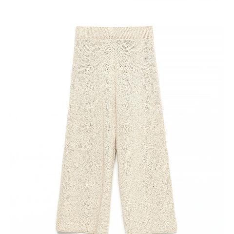 Cropped Palazzo Trousers