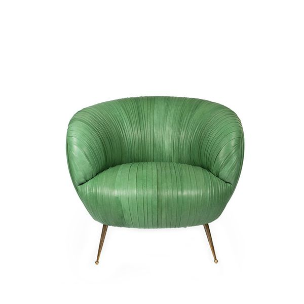 Kelly Wearstler Souffle Leather Chair