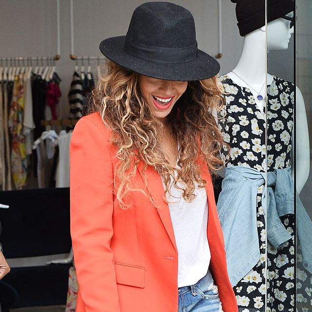 Beyoncé Came Up With the Perfect Casual Uniform (So You Don't Have To)