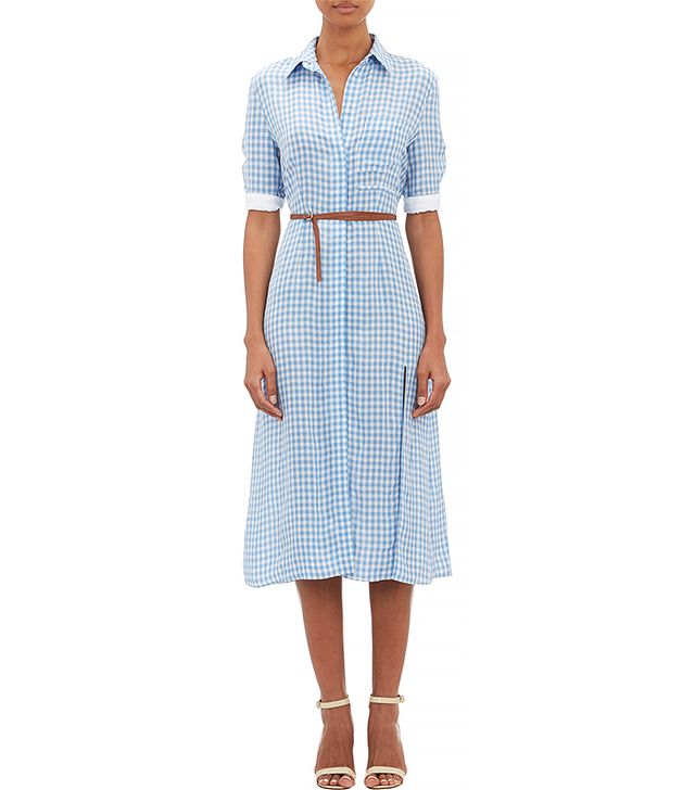 Altuzarra Gingham Kieran Shirtdress