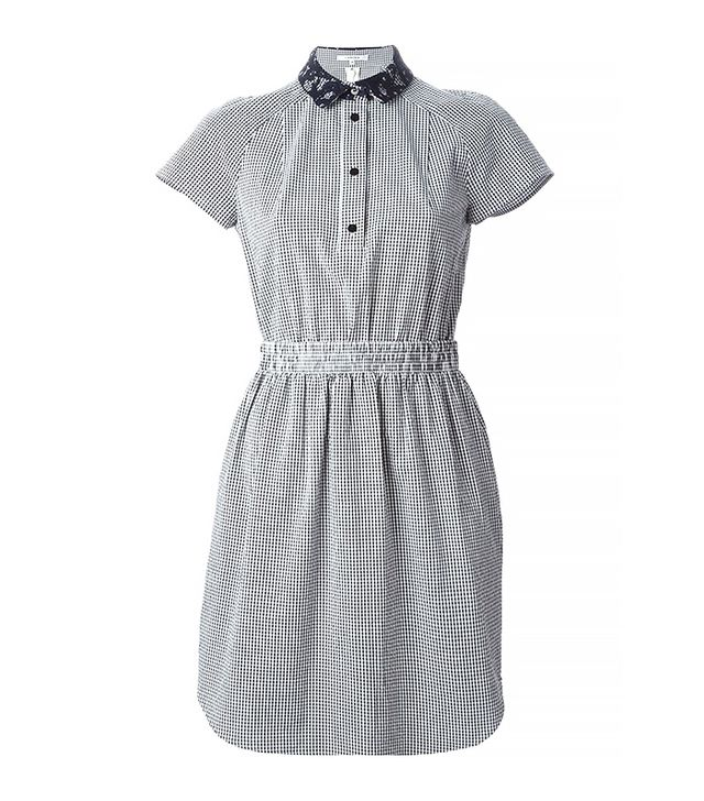 Carven Gingham Check Tennis Dress