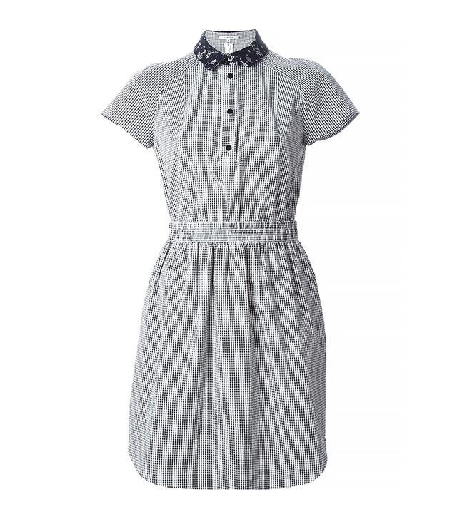 Carven Gingham Check Tennis Dress