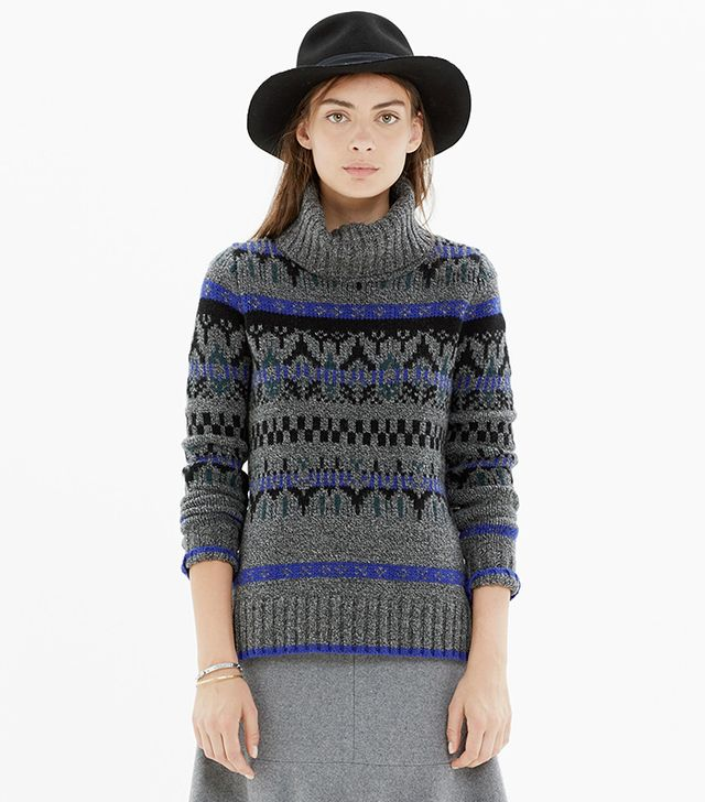 Madewell Iceblock Turtleneck Sweater