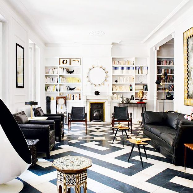 The Best White Living Rooms Around