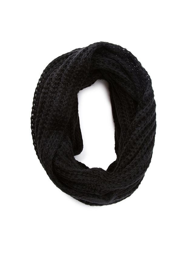 Forever 21 Loose-Knit Infinity Scarf