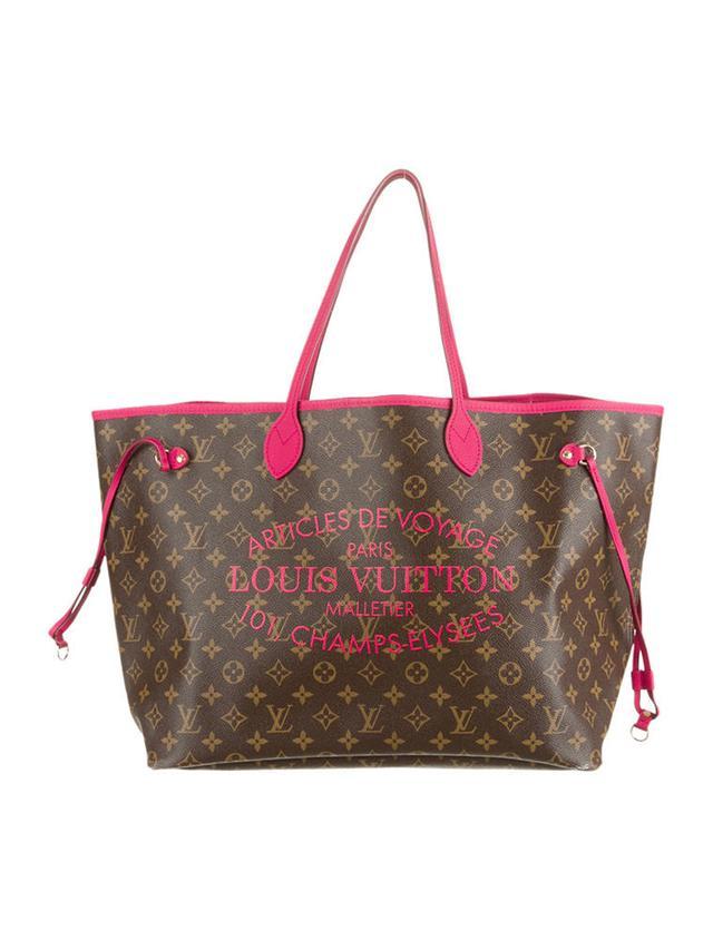 Louis Vuitton Ikat Neverfull Tote