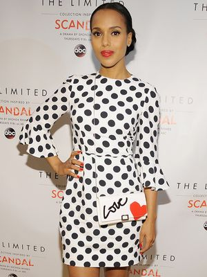 Kerry Washington Wears Her Heart on Her…Bag