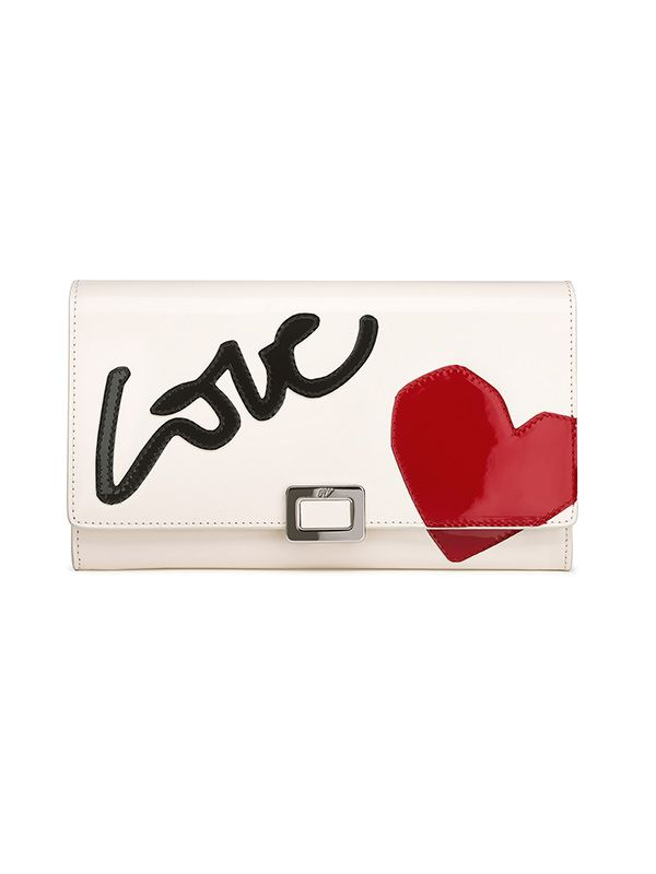 Roger Vivier Mini Buckle T-Shirt Love Bag
