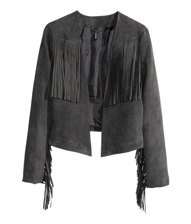 H&M Jacket with Fringe