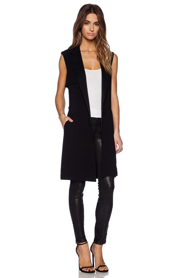 Jenni Kayne Sleeveless Trench Coat