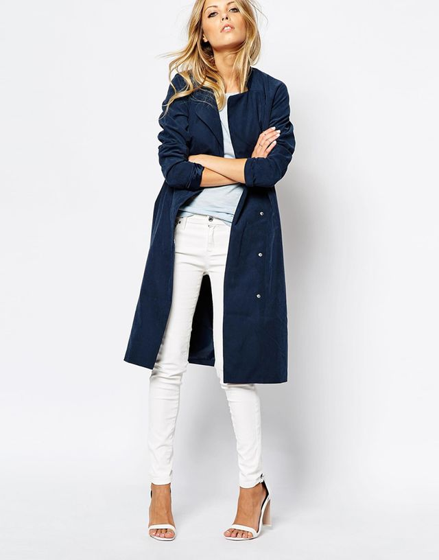 ASOS Noisy May Duster Trench