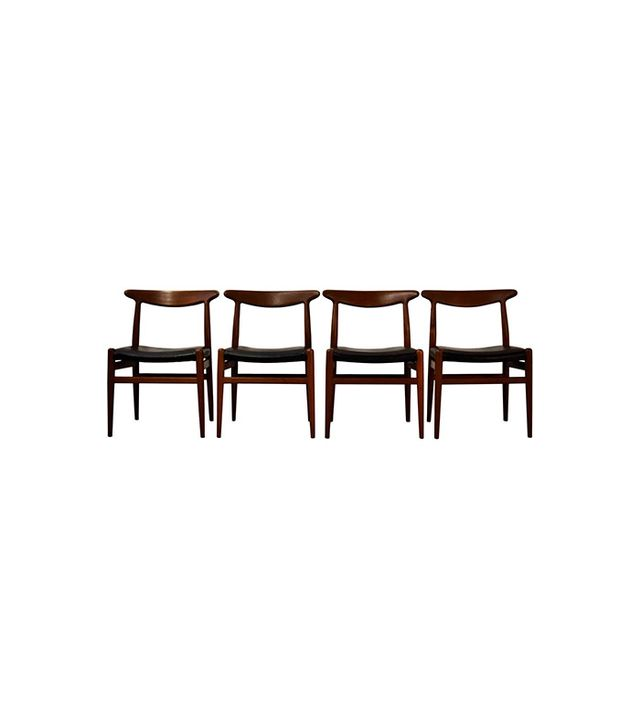1st Dibs Set of Hans Wegner for C.M. Madsen Dining Chairs