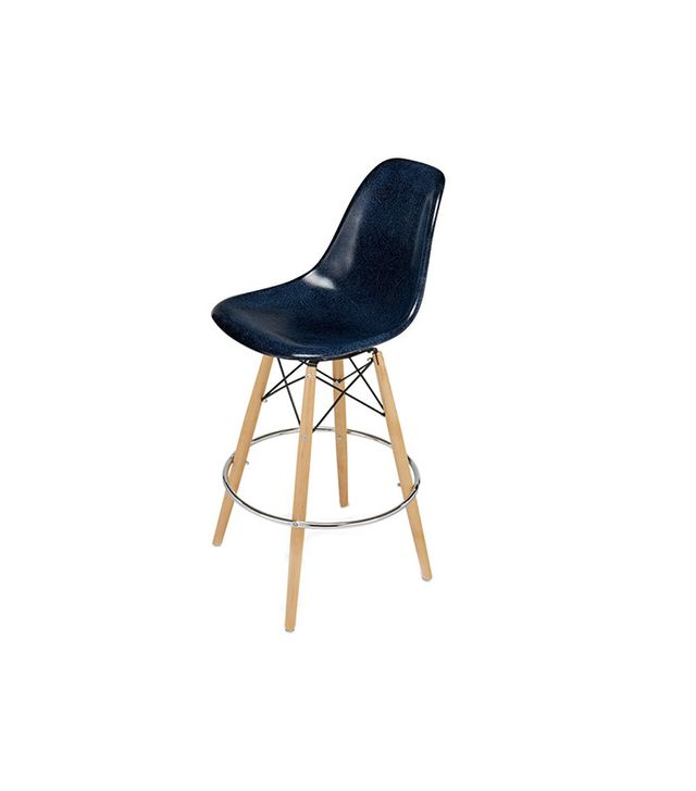 Modernica Dowel Bar Stool With Swivel Base