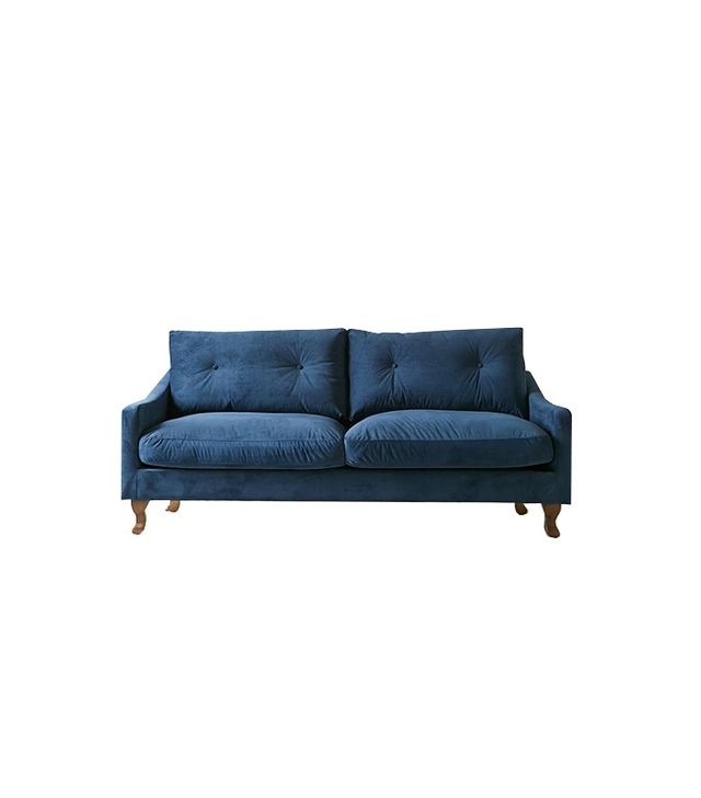 Annette Sofa Plum & Bow