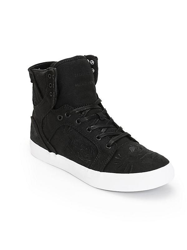 Supra Skytop LS Roses Skate Shoes