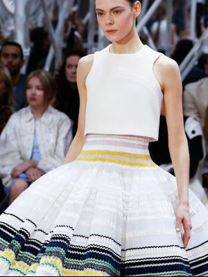 Inside the Magical World of Making a Dior Couture Dress