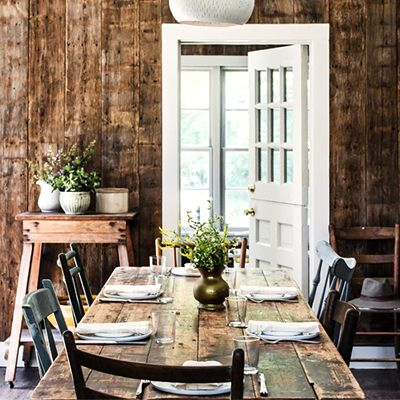 Tour a Beautifully Dramatic Farmhouse