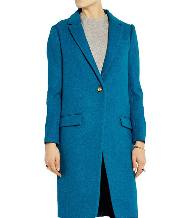 J. Crew Collection Harris Tweed Wool Coat