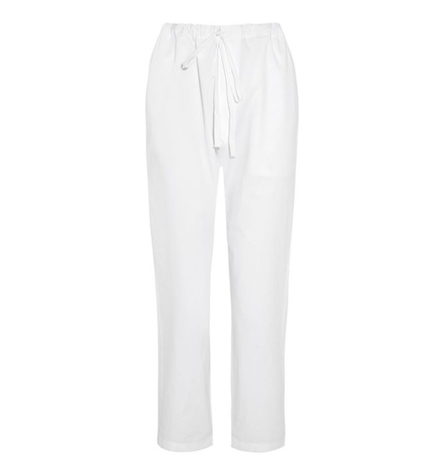 Étoile Isabel Marant Sidney Cotton Tapered Pants