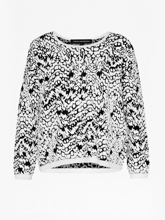 French Connection Leopard Moth Jumper