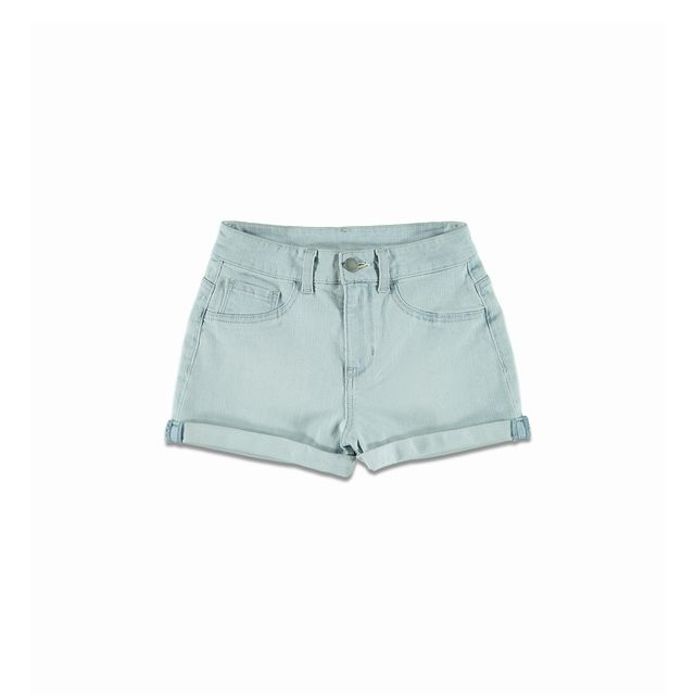 Forever 21 Light Wash Denim Short