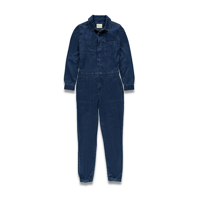 Forever 21 Denim Jumpsuit