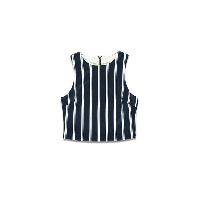 Forever 21 Striped Woven Tank Top