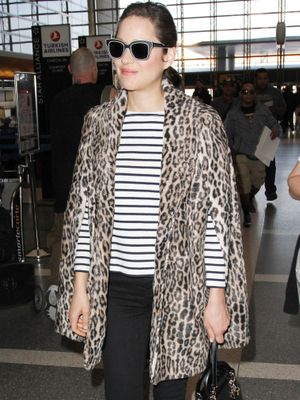How to Dress Like a French Girl at the Airport