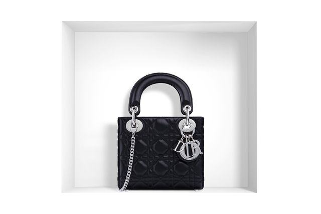 Dior Lady Dior Bag in Black Lambskin