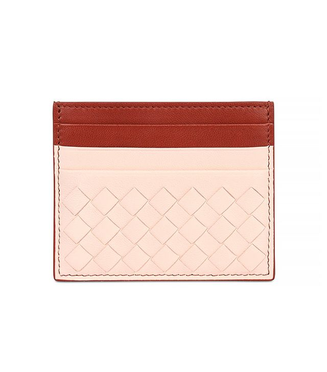 Bottega Veneta Intrecciato Nappa Leather Card Holder