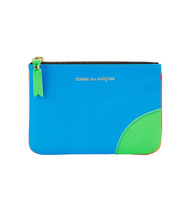 Comme Des Garcons Small Zip Pouch