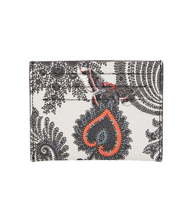 Givenchy Butterfly Paisley Card Holder