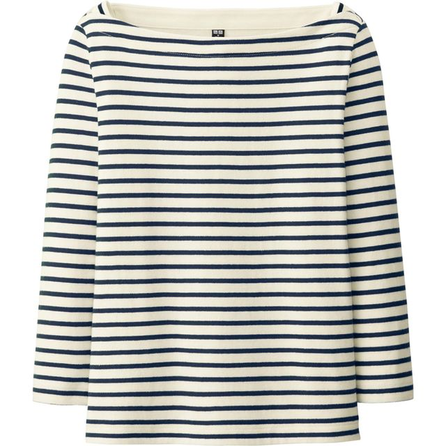 Uniqlo Boatneck Striped T-Shirt