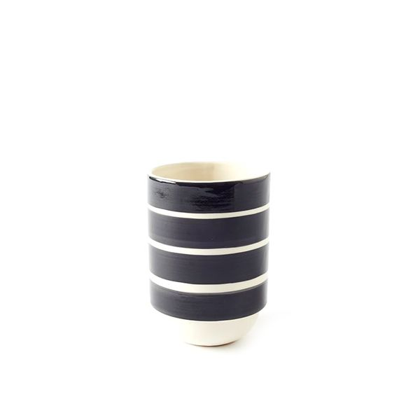 West Elm Hand Stamped Vase