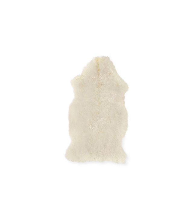 Design Within Reach Sheepskin Throw