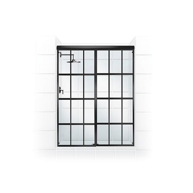 Coastal Shower Doors Gridscape Shower Door